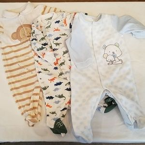 Cozy 3-6 Month Baby Boy Jammies